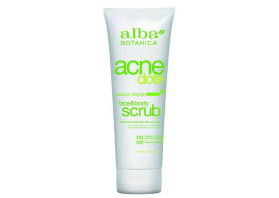 Alba Botanica AcneDote Face and Body Scrub
