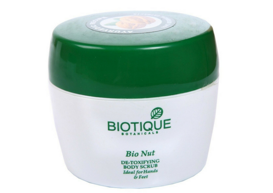 Biotique Bio Nut De-Toxifying Body Scrub