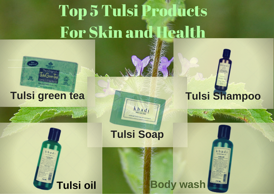 Tulsi-products-for-skin-health