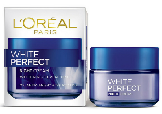 L'oreal White Perfect Fairness Revealing Soothing Night Cream-lifestylica