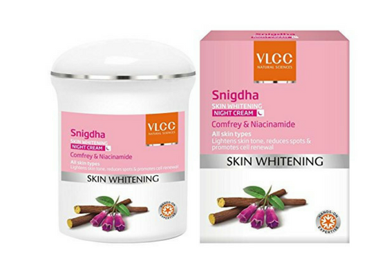 VLCC Snigdha Skin Whitening Night Cream-lifestylica