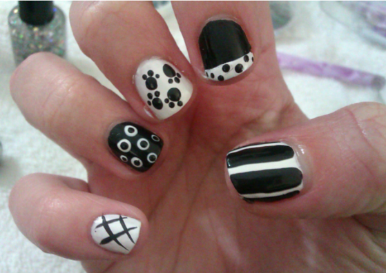 simple nail art design for beginners