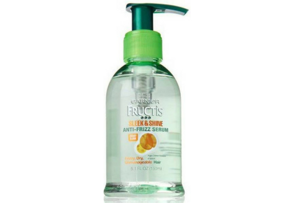 Garnier Fructis Sleek & Shine Anti-Frizz Serum-lifestylica