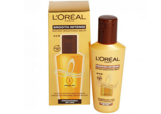 L'Oreal Smooth Intense Instant Smoothing Serum-lifestylica
