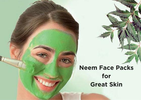 Neem Face Packs for Great Skin
