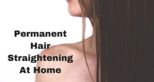 permanent hair straightening at home_hair