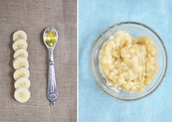 almond-oil-for-skin-banana-face-pack