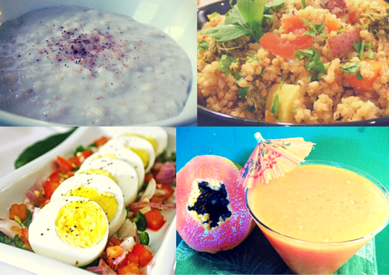 barley-millet-papaya-egg-salad