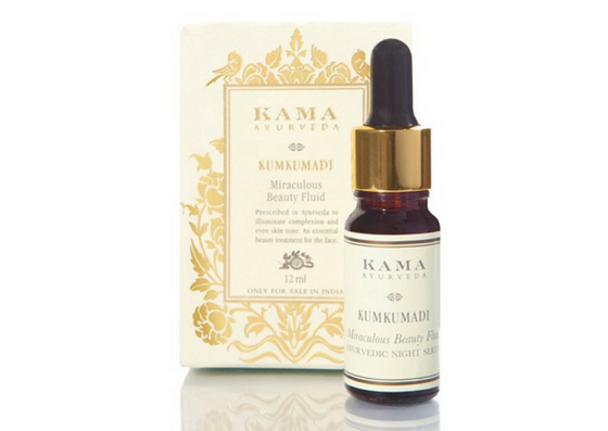 Kama Kumkumadi Miraculous Beauty Ayurvedic Night Serum-lifestylica