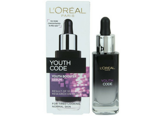 L'Oreal Paris Youth Code Youth Booster Serum-lifestylica