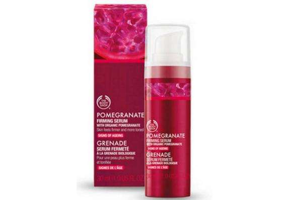 The Body Shop Pomegranate Firming Serum-lifestylica
