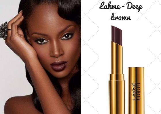 lakme-brown