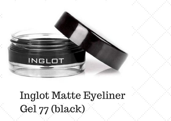 Inglot Matte Eyeliner Gel 77 Black