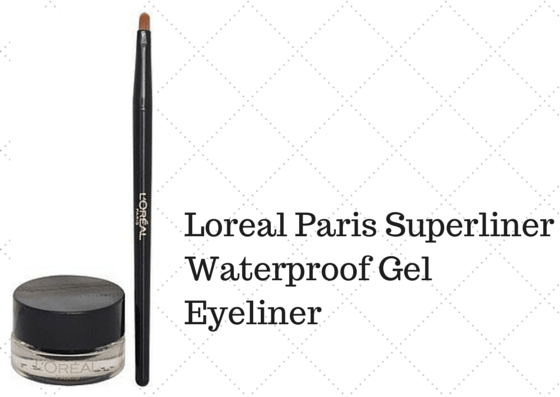 L Oreal Paris Super Liner Waterproof Gel Eyeliner