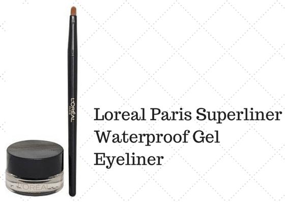 L Oreal Paris Super Liner Waterproof Gel Eyeliner