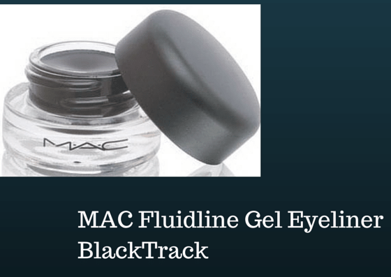 mac fluidline gel black track liquid eyeliner