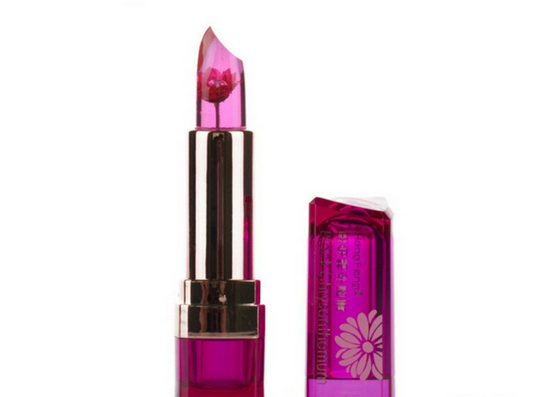 Generic Moisturizing Jelly Flower Lipstick- Grape Flavour