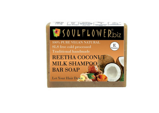 Soul Flower Let Your Hair Down Soap Bar-lifestylica