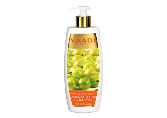 Vaadi Herbals Amla-Shikakai Shampoo-lifestylica