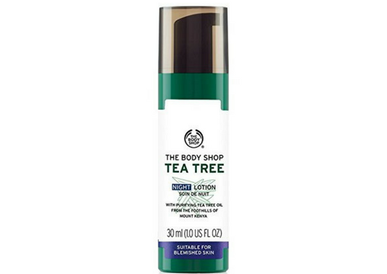The-Body-Shop-Tea Tree Night Lotion-Lifestylica