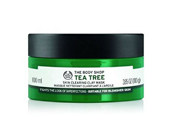 The-Body-Shop-Tea Tree Skin Clearing Clay Mask-Lifestylica