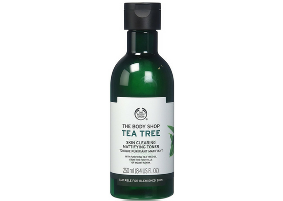 The-Body-Shop-Tea Tree Skin Clearing Mattifying Toner-Lifestylica