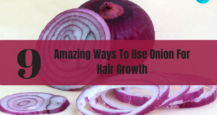 onion for hair growth -lifestylica
