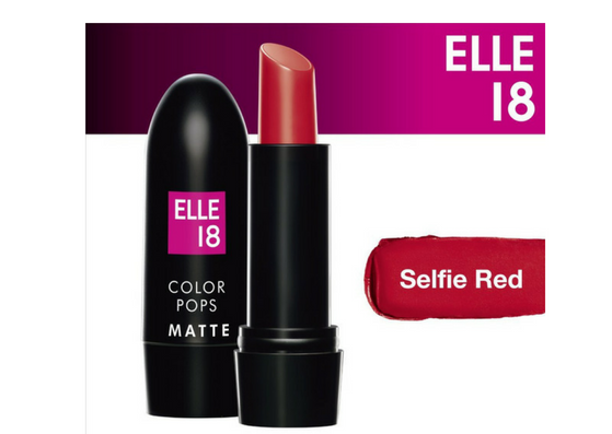 elle 18 color pops matte lipstick shades-lifestylica