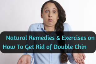 How to get rid of double chin - lifestylica