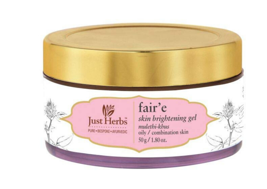 just-herbs-faire-mulethi-khus-skin-brightening-night-gel-lifestylica